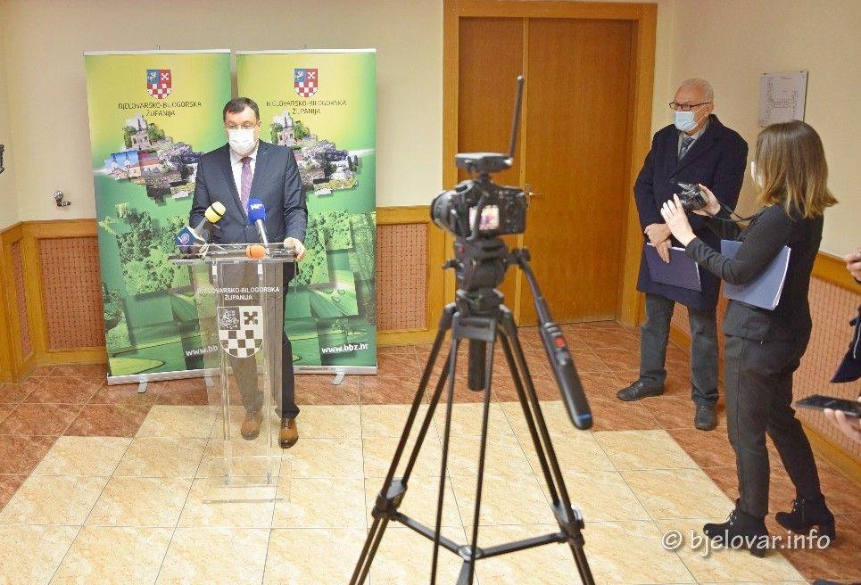 Župan Bajs i ravnatelj OB Bjelovar Ali Allouch: Zaokružena financijska konstrukcija za izgradnju nove bolnice