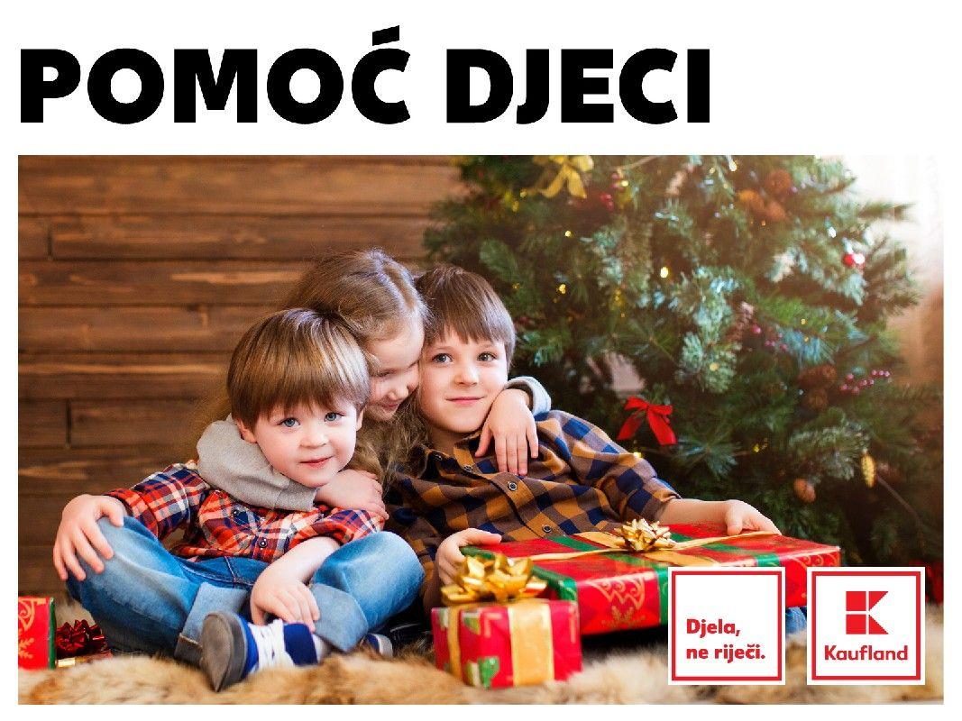 Kaufland osigurao poklone i božićni ručak za sve dječje domove u Hrvatskoj