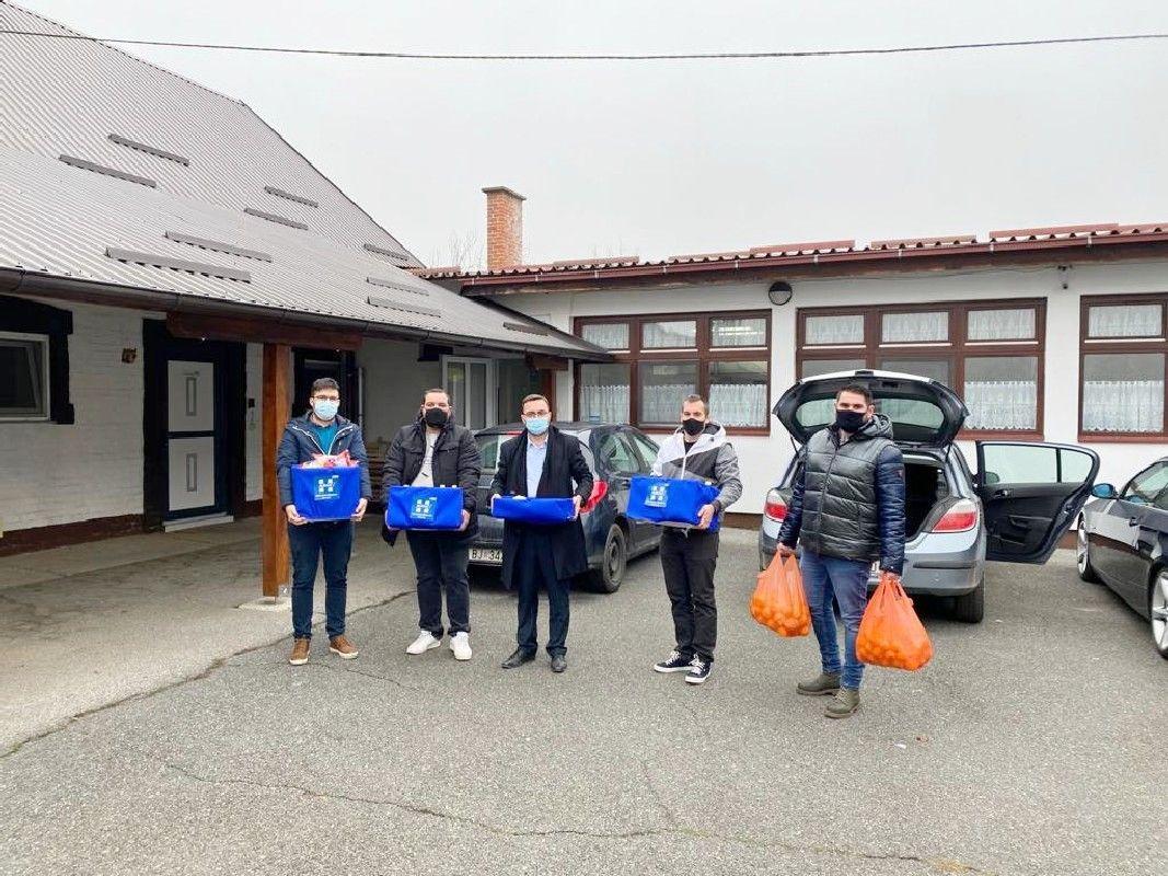 Nastavak humanitarnih aktivnosti Mladeži HDZ-a BBŽ - Donacija Caritasu i Pučkoj kuhinji u Bjelovaru