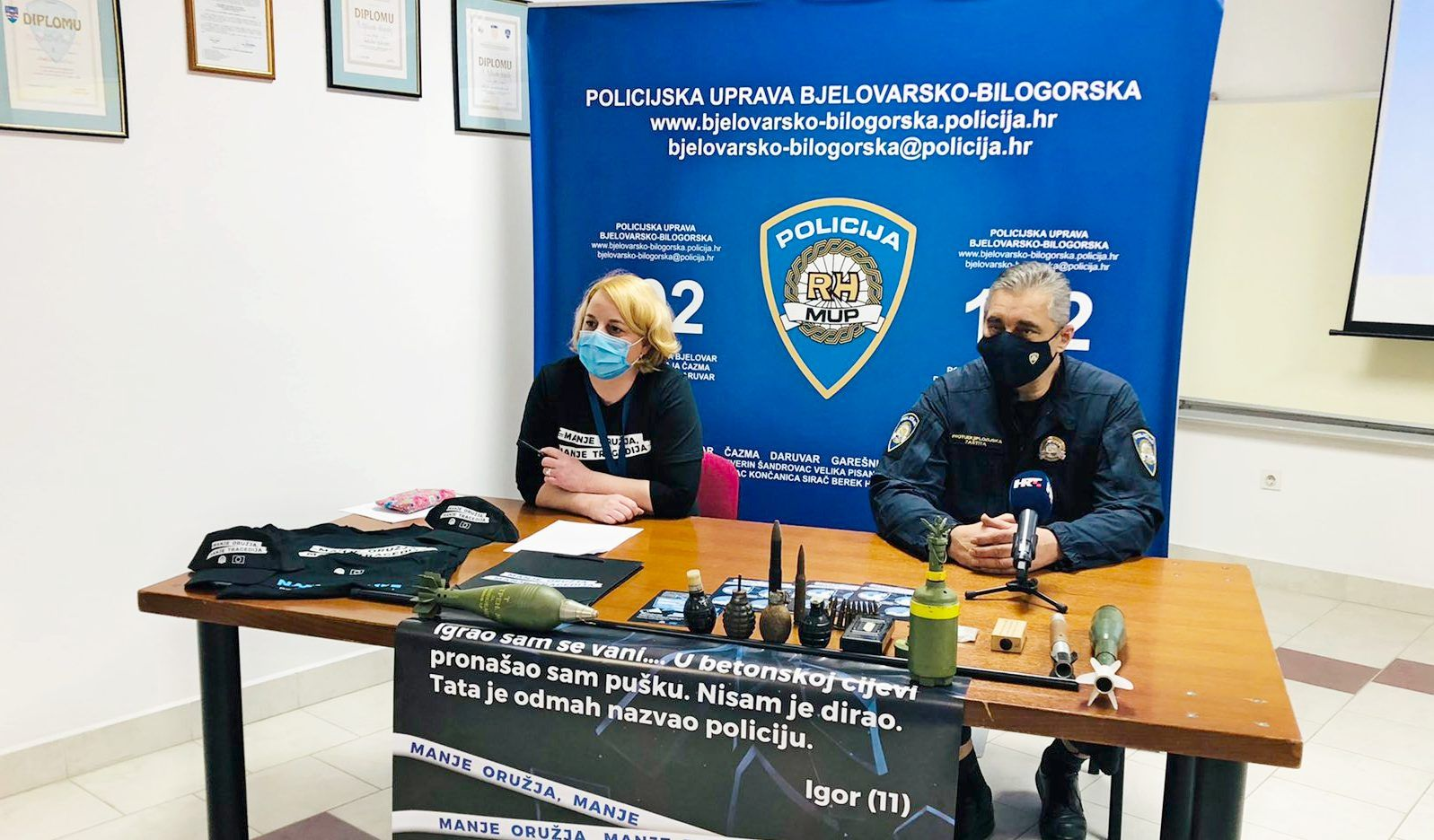 PU bjelovarsko-bilogorska: Predstavljena modernizirana kampanja