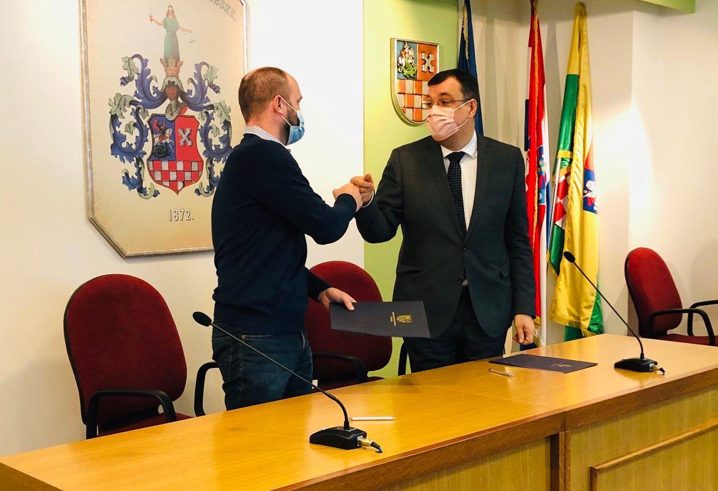 ŽUPANIJA: Potpisani ugovori s korisnicima županijskih potpora u gospodarstvu i obrtništvu