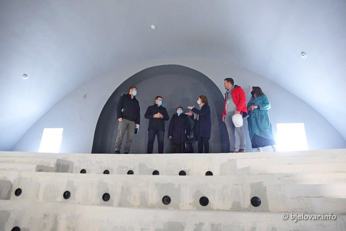 Nova zgrada bjelovarskog Doma kulture postat će moderni centar kulturnih manifestacija – Završetak radova najavljen za ožujak