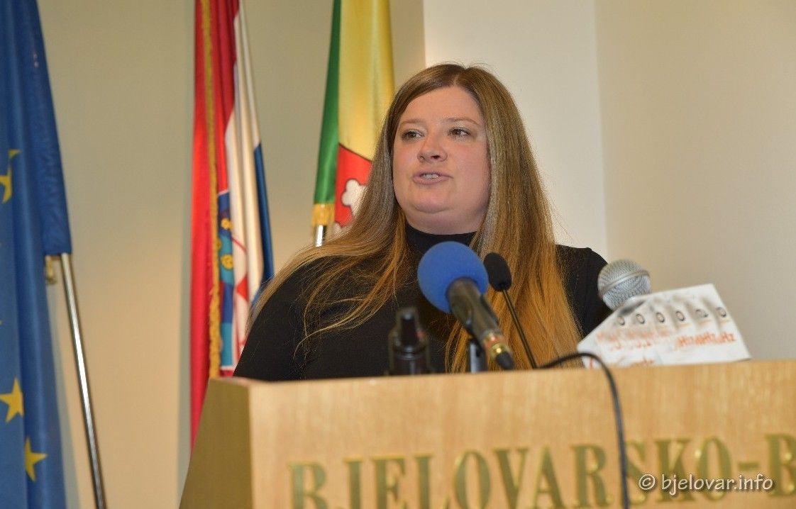 Predsjednica stranke GLAS BBŽ Ines Šarić: Pred svake izbore HDZ se bavi jeftinim politikantstvom