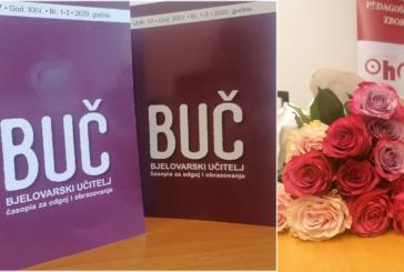 UVIJEK VRIJEDNI – Izašao novi broj časopisa za odgoj i obrazovanje BJELOVARSKI UČITELJ