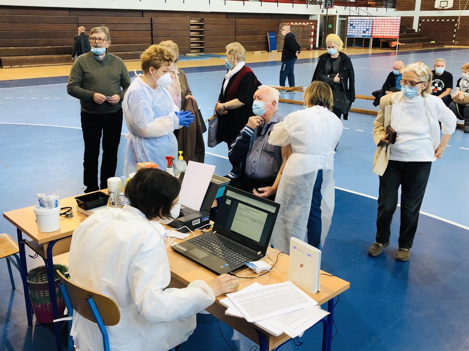 Cijepljenje protiv koronavirusa ovoga tjedna osim u Bjelovaru organizirano i u Čazmi