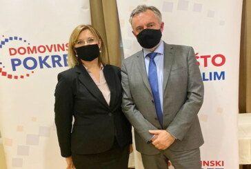 Dubravka Dragašević kandidatkinja Domovinskog pokreta za županicu Bjelovarsko-bilogorske županije