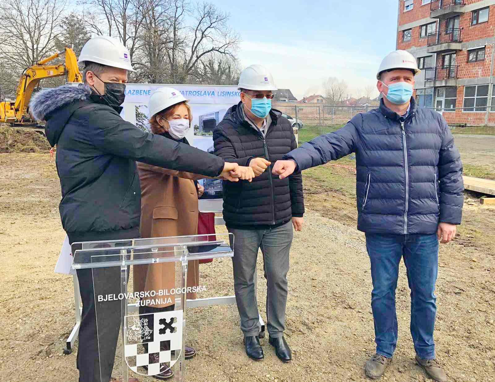 (FOTO) Krenuli radovi na izgradnji nove zgrade Glazbene škole u Bjelovaru
