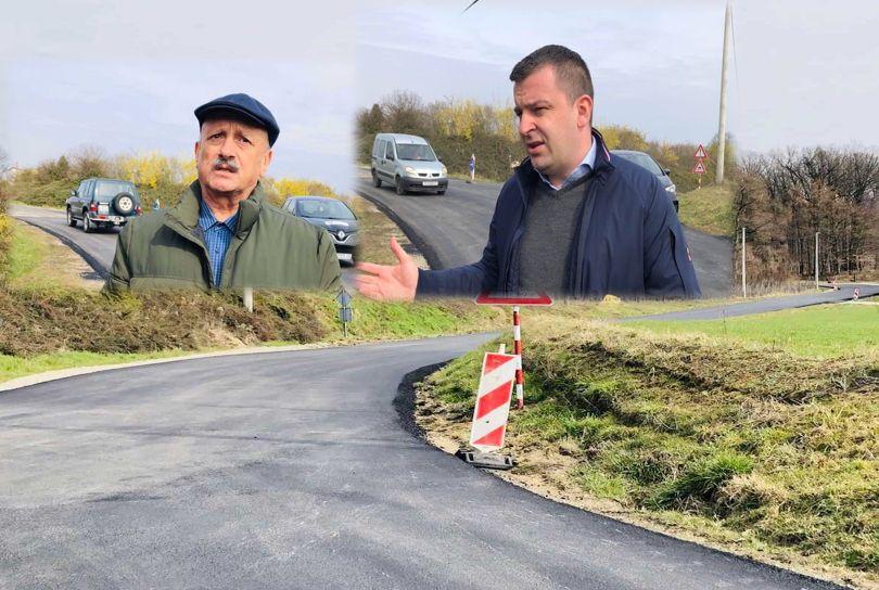 Grad Bjelovar uređuje cestu na dionici Martinac – Letičani - Gradonačelnik Hrebak obišao radove