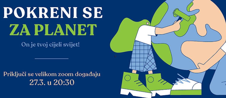 Grad Bjelovar - Ugasite svjetla za Sat za planet Zemlju