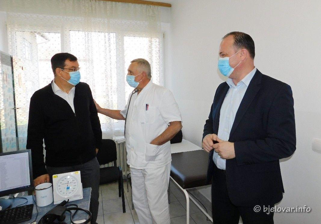(FOTO) Uloženo preko 3,5 milijuna kuna u garešnički Dom zdravlja te osigurana dva tima obiteljske medicine