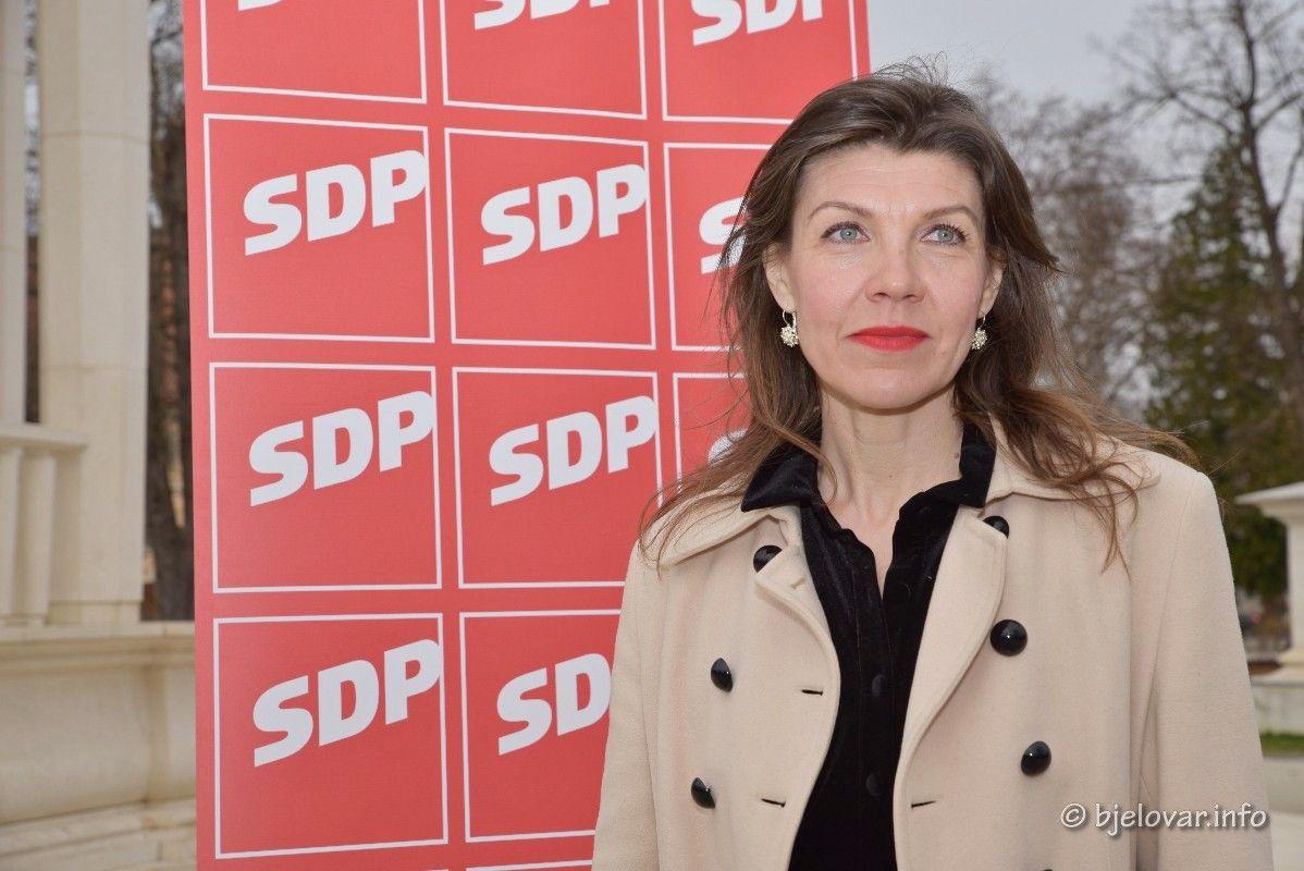 (FOTO) Sada i službeno: Sandra Frčo SDP-ova kandidatkinja u utrci za županicu