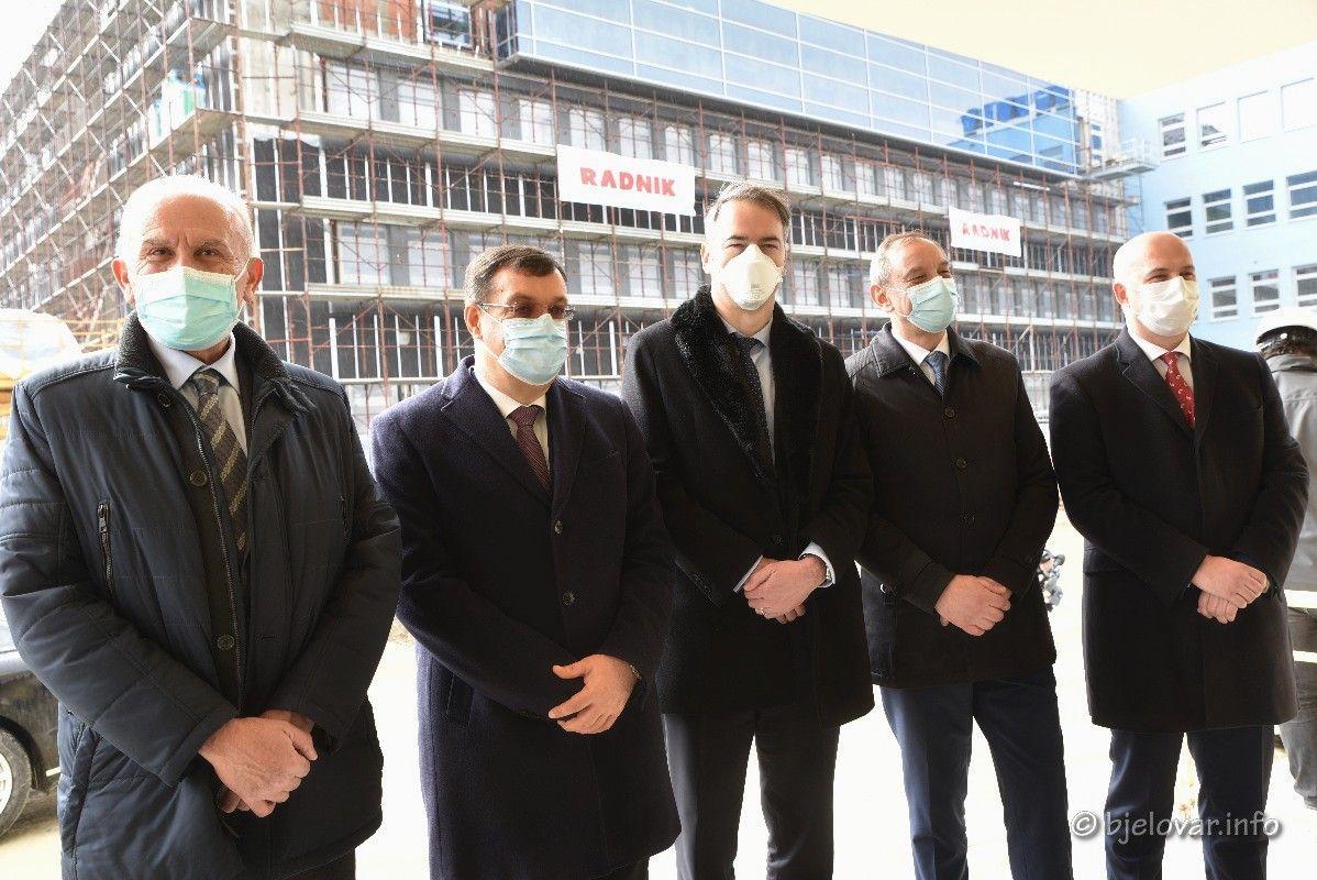 Izgradnja NOVE BJELOVARSKE BOLNICE ulazi u završnu fazu - Potpisan ugovor s tri banke o financiranju najvećeg županijskog projekta