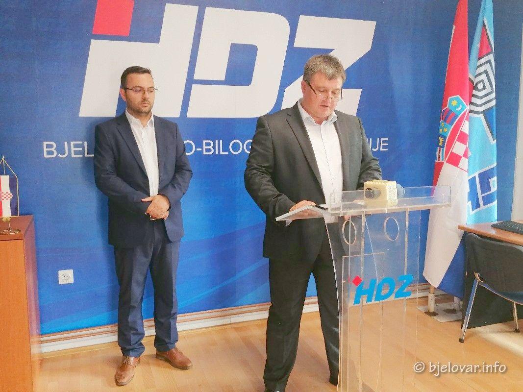 HDZ BBŽ: Jedino je HDZ-ova Vlada dala novac za gradnju nove bjelovarske bolnice