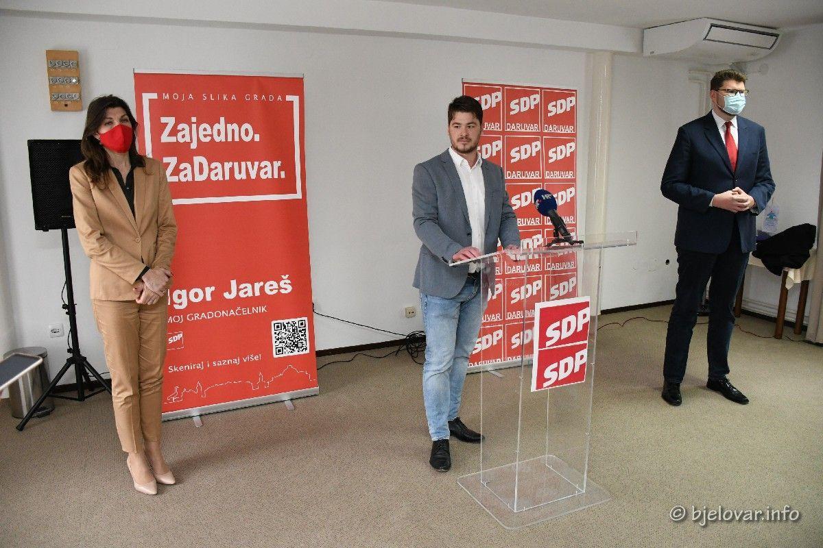 SDP-ov kandidat za gradonačelnika Daruvara IGOR JAREŠ predstavio svoj program: Moja slika Daruvara