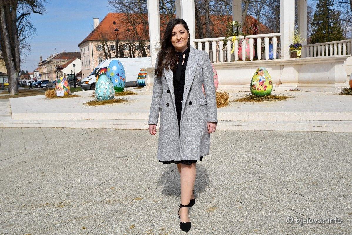 (FOTO) SDP-ova kandidatkinja za gradonačelnicu Bjelovara Antoneta Đokić: Bjelovar vidim kao grad koji će imati Centar za mlade