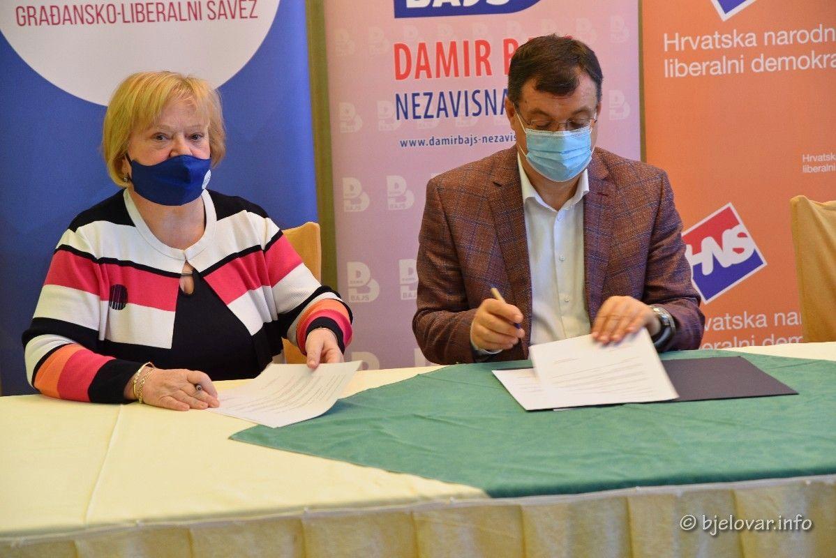 Stranka Damir Bajs NL jača za još jedan koalicijski sporazum - Na lokalne izbore zajedno sa strankom GLAS