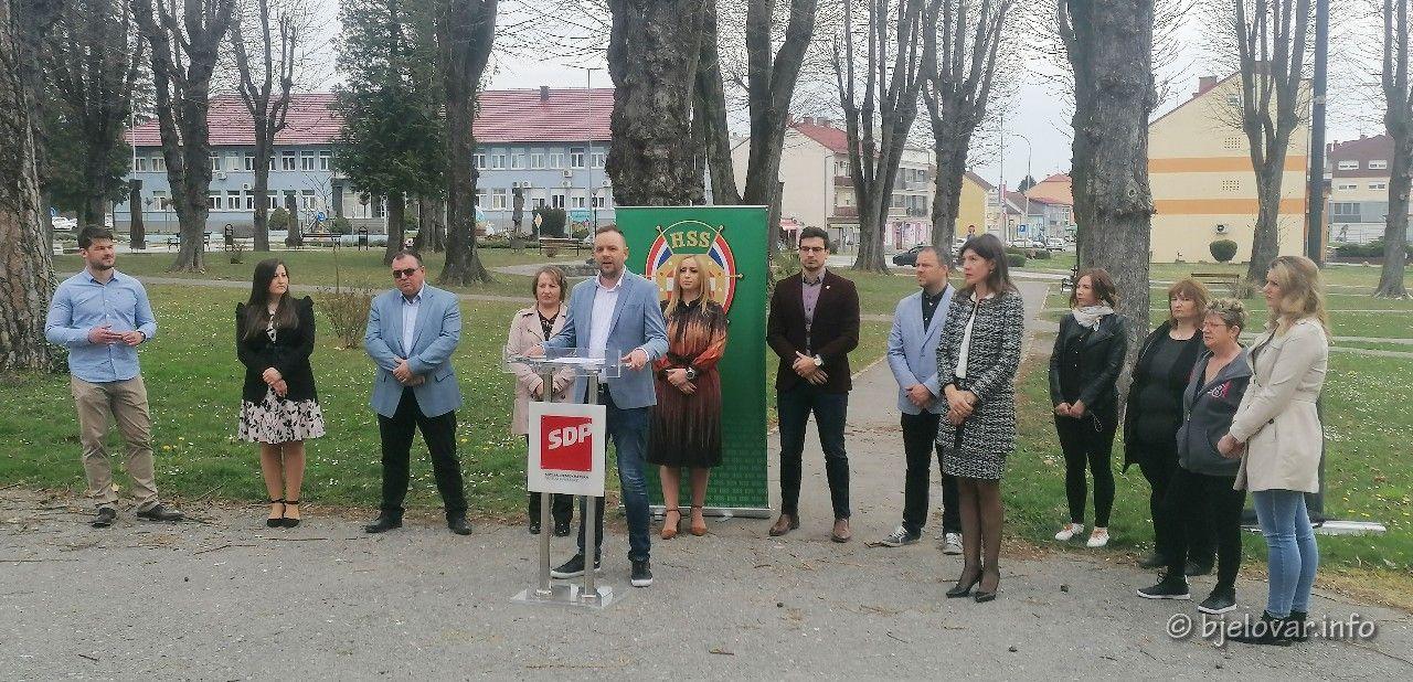 SDP-ov kandidat za gradonačelnika Grubišnog Polja Sebastijan Svat predstavio izborni program: 'Srcem za Grubišno Polje'
