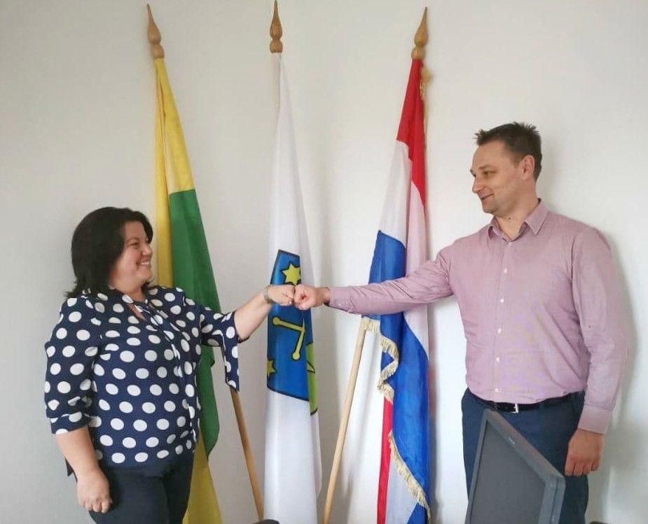 HDZ-ov kandidat za župana Marko Marušić posjetio Općinu Zrinski Topolovac