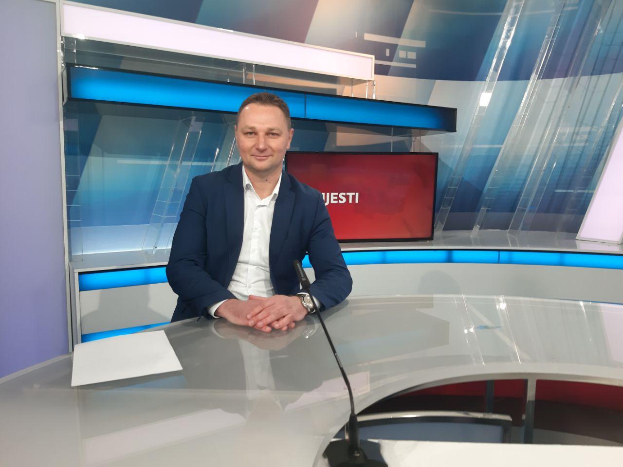 Gostovanje Marka Marušića u HRT-ovoj emisiji 'Studio 4'