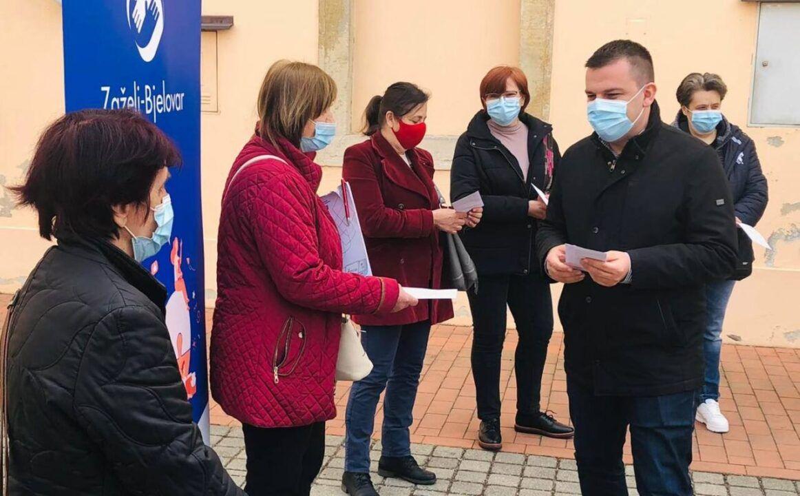 Gradonačelnik Hrebak: Nastavlja se program zapošljavanja žena 'Zaželi- Bjelovar'