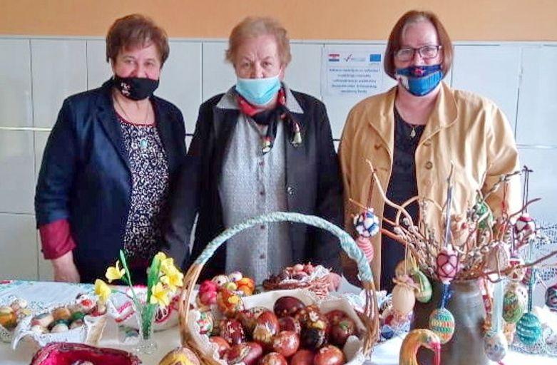 Matica umirovljenika Veliko Trojstvo uvijek aktivna – Kroz radionice izradili prekrasne 'Uskrsne pisanice'