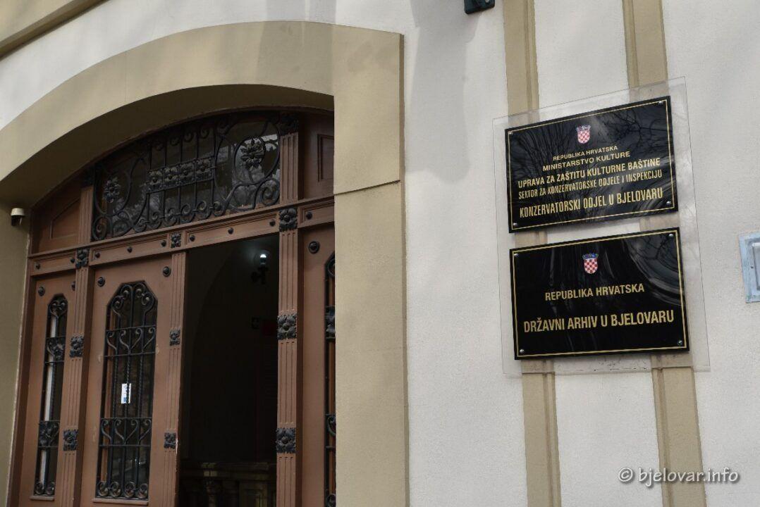 MINISTARSTVO KULTURE REAGIRALO NA IZJAVE kandidatkinje Centra za gradonačelnicu Bjelovara Danijele Hajdinjak Prihić vezano uz Državni arhiv u Bjelovaru