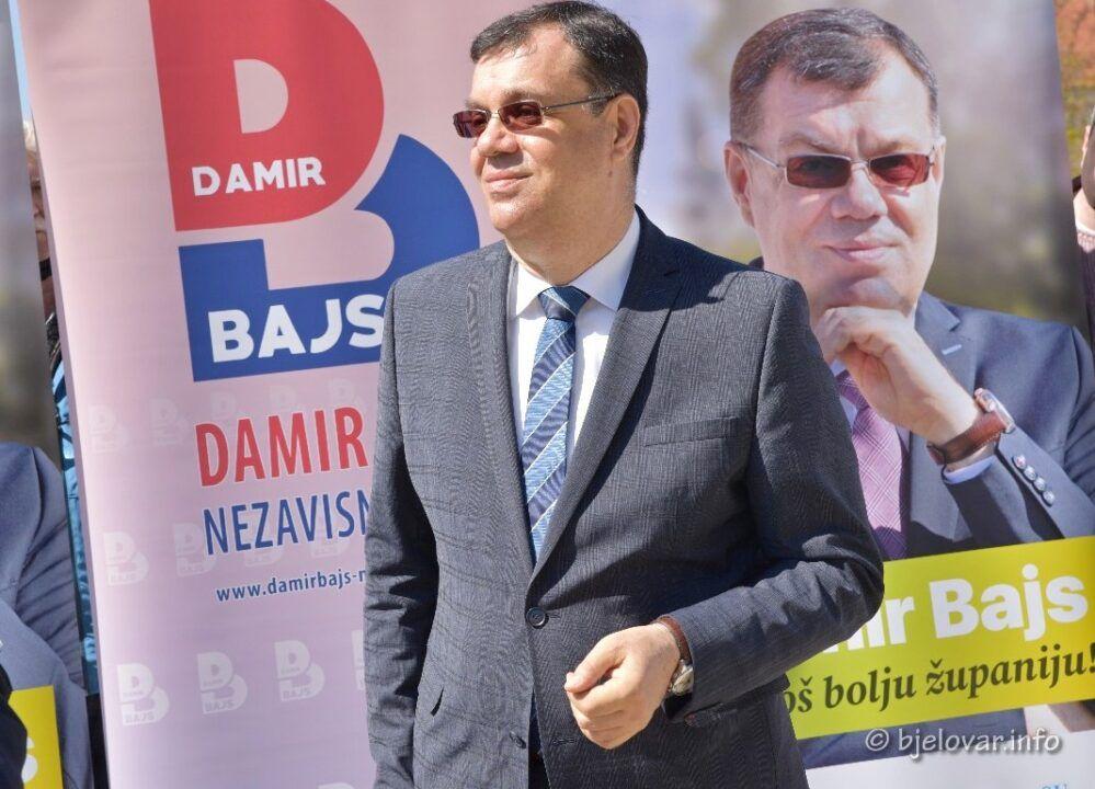DAMIR BAJS predstavio kandidaturu za još jedan mandat župana pod motom 'ZA JOŠ BOLJU ŽUPANIJU'