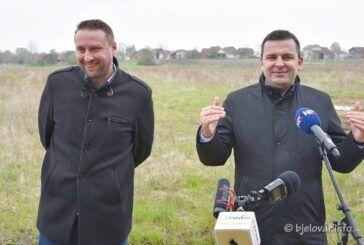 Bjelovarski gradonačelnik Dario Hrebak predstavio kandidaturu za novi mandat
