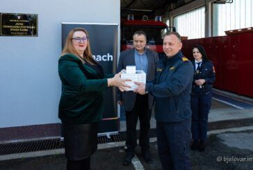 Donacija drona Javnoj vatrogasnoj postrojbi Grada Čazme za nadolazeću protupožarnu sezonu