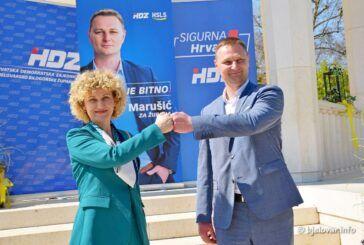 Kandidati HDZ-a i HSLS-a za župana i zamjenicu Marko Marušić i Marija Jungić: Za ostvarenje vizije uspješne Županije, važni su ljudi koji vode