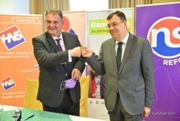 Svakim danom raste podrška kanidatu za župana Damiru Bajsu - Danas potpisan još jedan sporazum
