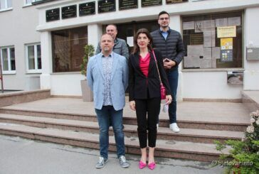 SDP-ova kandidatkinja za županicu Sandra Frčo predala kandidacijsku listu s više od 2000 potpisa