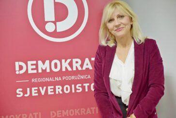 Predsjednica Demokrata BBŽ Bojana Hribljan: 'O bahatosti, drugo ime ti je HDZ'