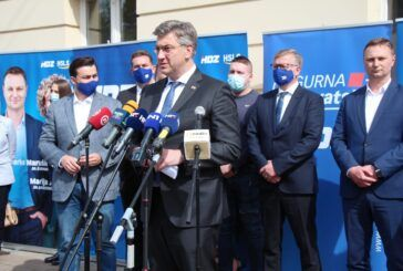 Plenković u Bjelovaru dao podršku kandidatima za župana i gradonačelnika: Uvjeren sam da će naši kandidati dobiti veliku potporu birača