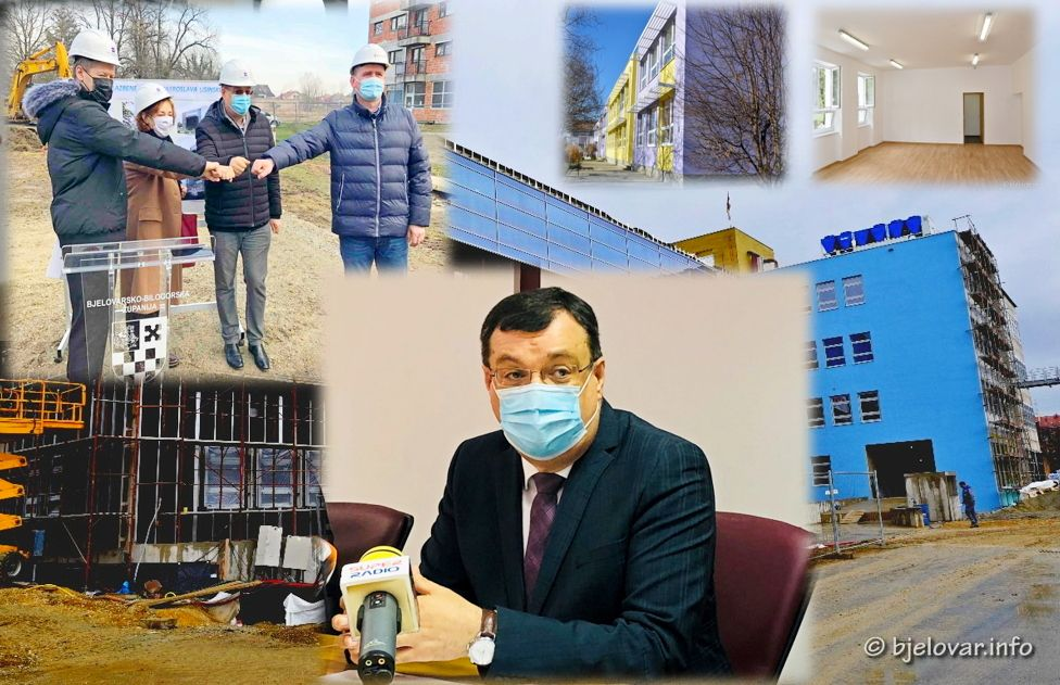 REZIME ŽUPANA DAMIRA BAJSA - Projekti u mandatu 2013.-2021