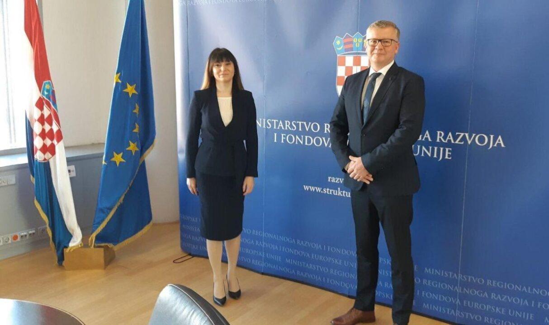 Bjelovarski HDZ: Ministrici Tramišak predstavljen najveći projekt u povijesti Grada Bjelovara