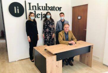 Uskoro otvorenje novouređenog prostora 'Inkubator ideja' - Prostor je namijenjen za sve koji su u potrazi za radnim prostorom i prostorom za učenje