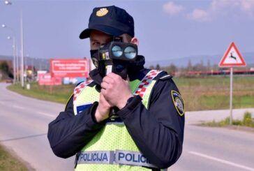 POLICIJA – Najava vikend akcije te županijske akcije na prekršaje nedozvoljene brzine kretanja vozilima