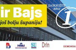 Poruka Damira Bajsa, kandidata za župana Bjelovarsko-bilogorske županije