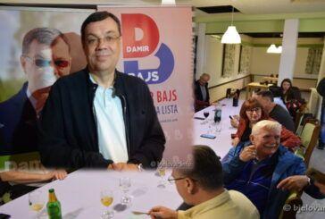 Kandidat za župana Damir Bajs u izbornoj noći: Zahvaljujem svim glasačima koji su izašli na izbore