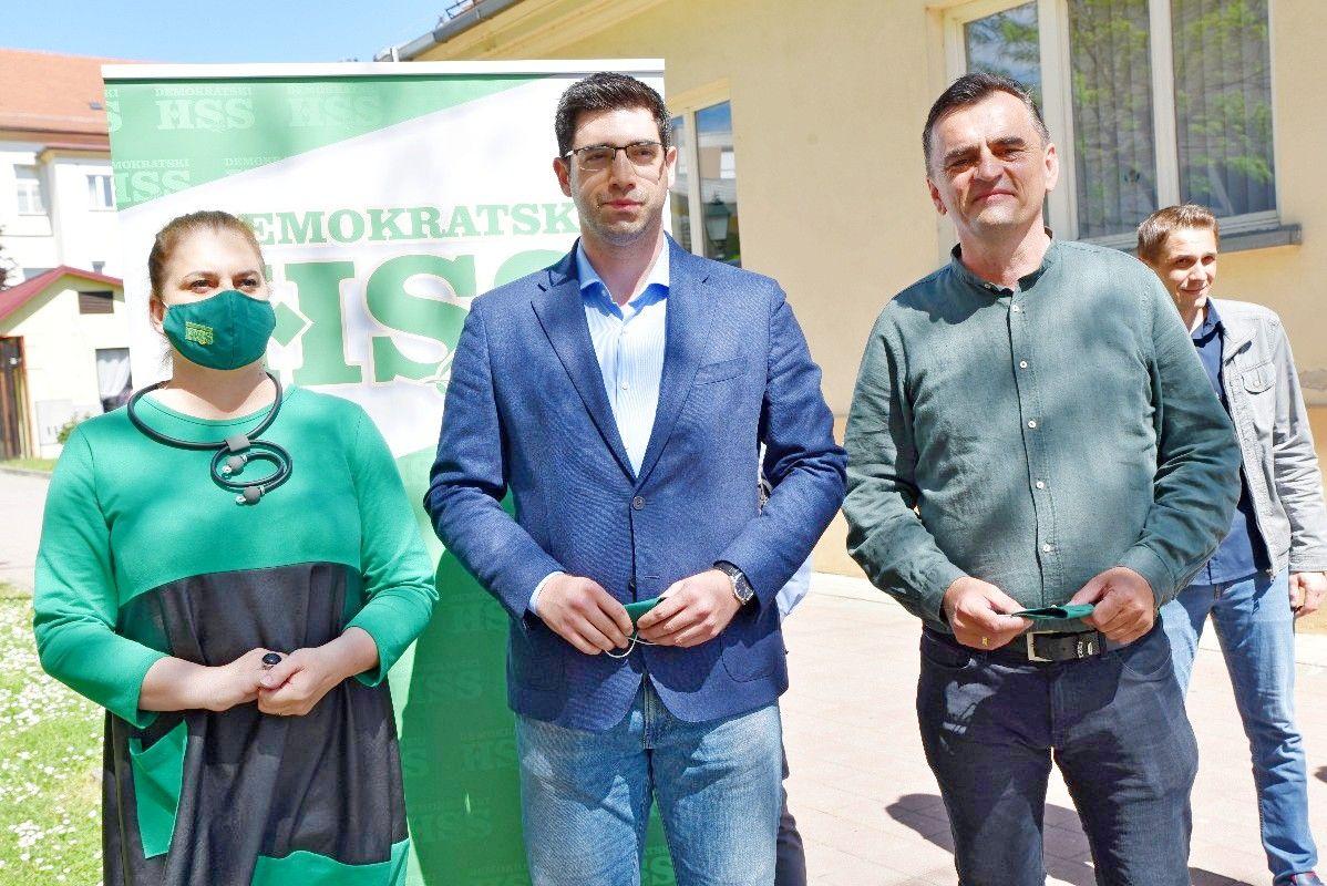 Predsjednik DHSS-a Mateo Ivanac podržao kandidate za župana i zamjenicu: Glasajte za ove ljude jer vjerujem da nećete požaliti