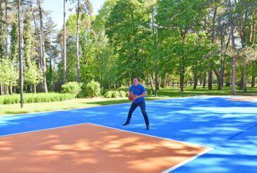 Odmor za dušu i tijelo nudi sportsko - rekreacijski park Borik - Postavljeno i novo košarkaško igralište