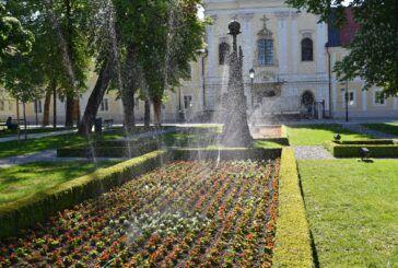 Uređen središnji gradski park u Bjelovaru - U obnovi sudjelovale bjelovarske tvrtke