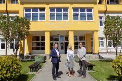 Grad Garešnicu i općinu Nova Rača posjetili zamjenici župana Bojana Hribljan i Saša Lukić