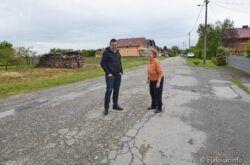 Hrebak najavio potpuno uređenje ceste Staroplavnički prilaz – Nove Plavnice s pješačkom i biciklističkom stazom
