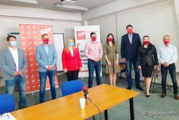 Predsjednik SDP-a Peđa Grbin u Bjelovaru na predstavljanju izbornog projekta Javna ustanova 'Poljoprivredna zadruga'
