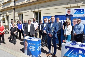Stožer HDZ-a i HSLS-a za župana BBŽ Marka Marušića: U panici zbog gubitka izbora, župan Bajs dosegnuo dno