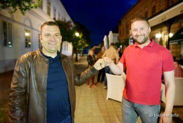 [FOTO] Izjava Daria Hrebaka nakon pobjede u Bjelovaru u prvom krugu
