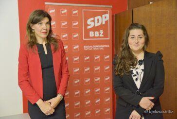 SDP-ove kandidatkinje za županicu i gradonačelnicu: SDP-e će raditi na boljem političkom položaju