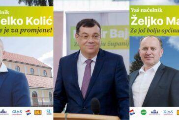 Damir Bajs pobjednik je prvog kruga izbora za župana, a županijska lista najveće koalicije nadjačala je HDZ-ovu listu